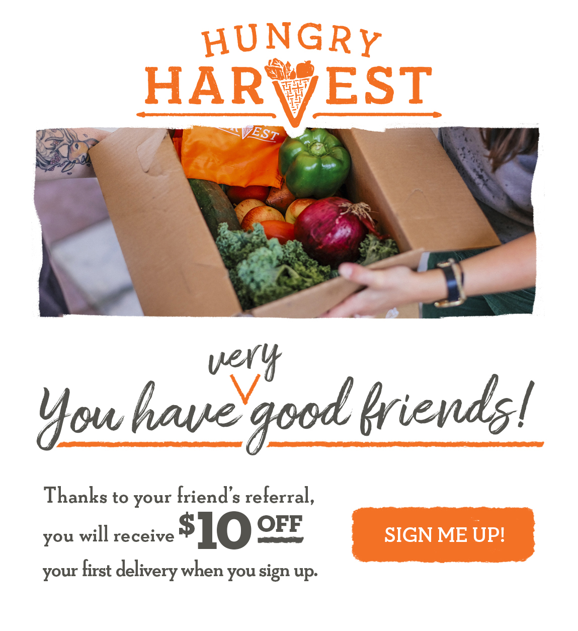 Receive $10 credit when a friend uses your referral code!